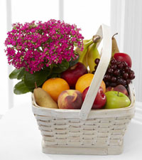 FTD's Flowering Fruit Basket