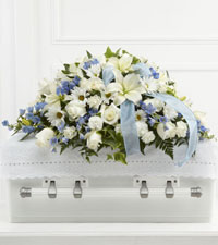 Tender Treasure Casket Spray