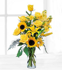 Blazing Sunshine Arrangement