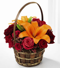 FTD's Harvest Blooms Basket