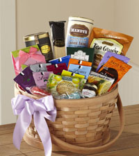 Quiet Tribute Tea Basket